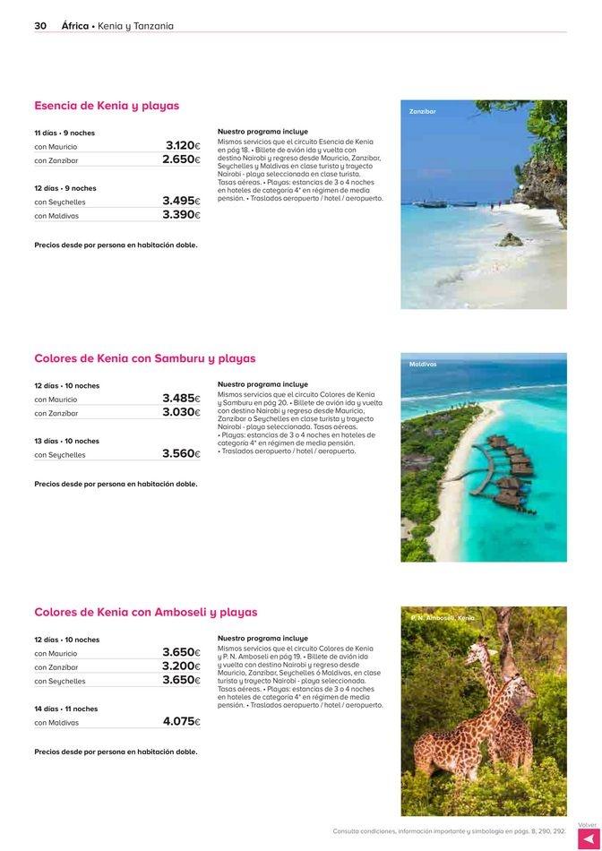 Viajes El Corte Inglés canarias   África, Asia y Oceanía   ofertas