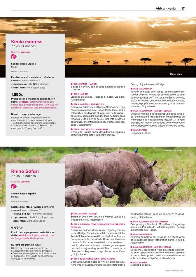 Viajes El Corte Inglés canarias   África, Asia y Oceanía