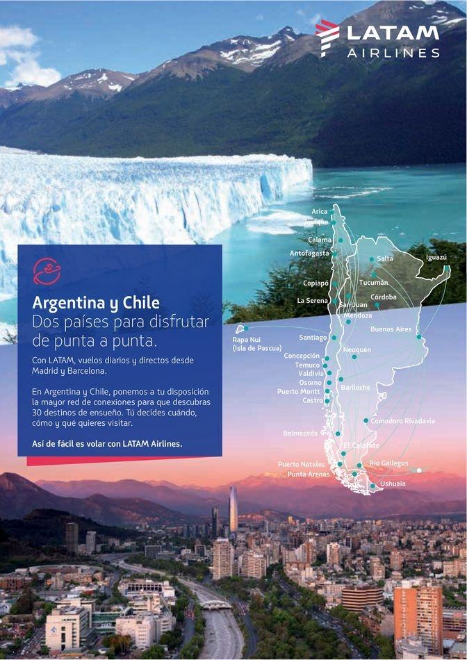 Viajes El Corte Inglés canarias   Argentina   ofertas