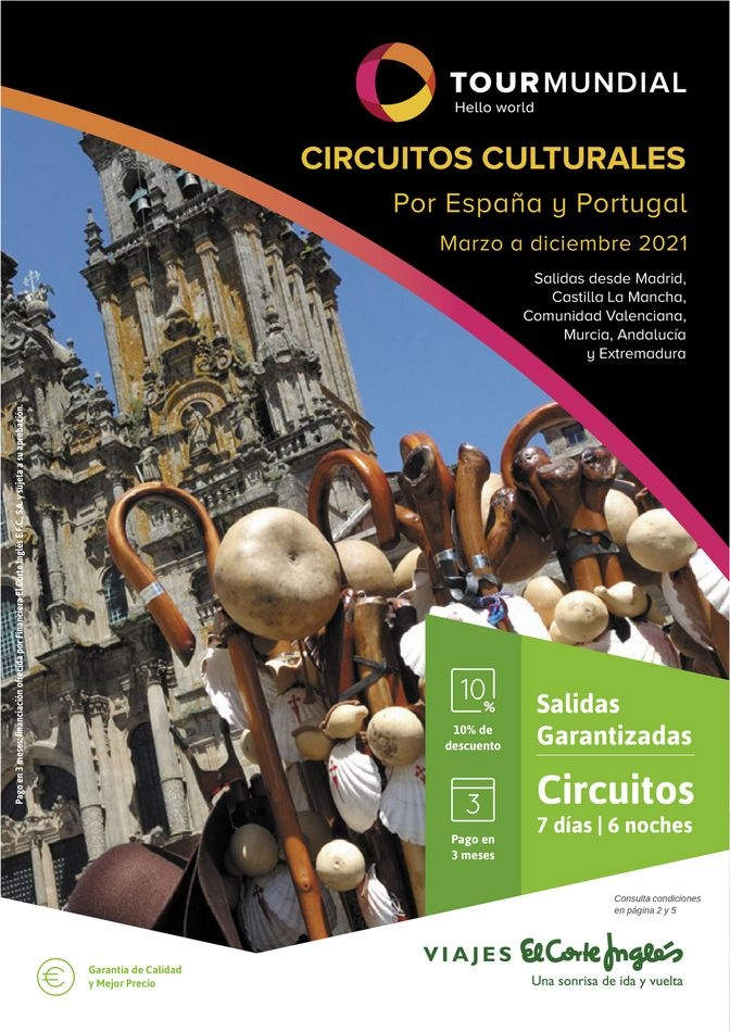 Viajes El Corte Inglés canarias   Circuitos culturales zona Centro y Sur