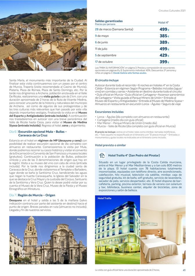 Viajes El Corte Inglés canarias   Circuitos culturales zona Noroeste   ofertas