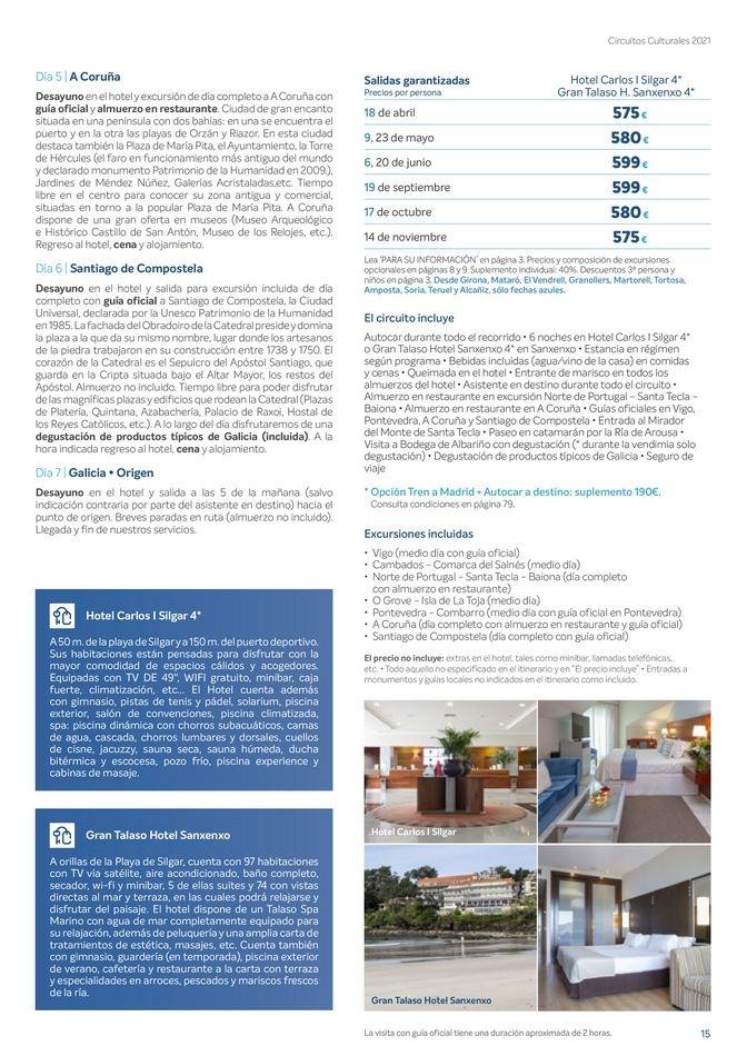Viajes El Corte Inglés canarias   Circuitos culturales zona Norte