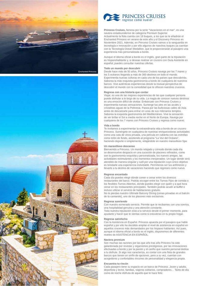 Viajes El Corte Inglés canarias   Cruceros Premium   ofertas