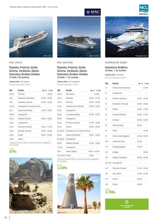 Viajes El Corte Inglés canarias   Grandes Viajes Cruceros