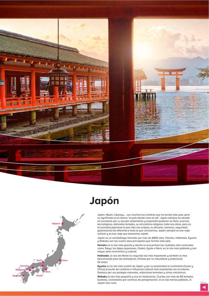 Viajes El Corte Inglés canarias   Japón