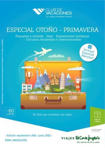 Viajes El Corte Inglés canarias  Club de Vacaciones - Andalucía